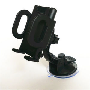 Two Position Screw Adjustable Crosswise Vertical Direction High Adsorption Mobile Phone Rotating Car Holder pictures & photos