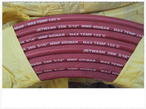 High Pressure Washer Steel Hose Superior Quality Smooth Surface RW-pH43