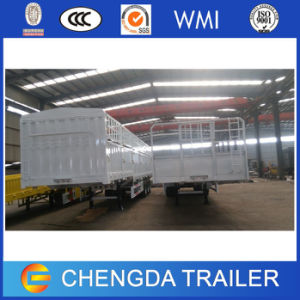 Tri Axle 40-60ton Side Door Semi Trailer for Sale pictures & photos