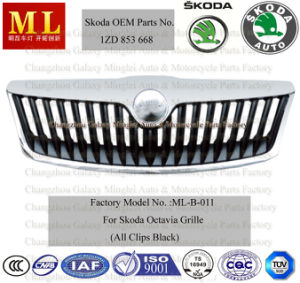 Car Radiator Grille for Skoda Auto Octaviafrom 2008-2ND Generation (OEM parts No.: 1ZD 853 668) pictures & photos