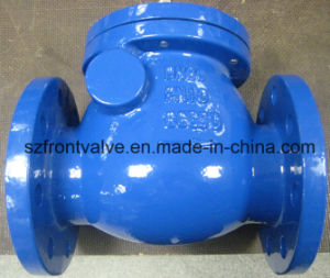 Cast Iron/Ductile Iron Flanged Swing Check Valve pictures & photos