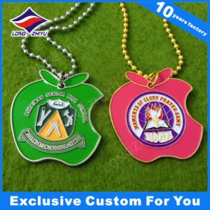 Gold Plated Custom Business Gift Dog Tag Colorful Enamel Metal Dog Tags pictures & photos