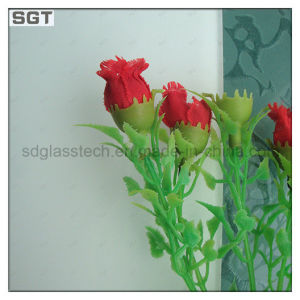 3mm-19mm Acid Etched Tempered Glass with CE SGS pictures & photos