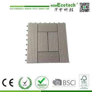 Anti-Slip WPC DIY Tile/ Wood Composite Interlocking Decking Tiles pictures & photos