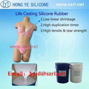 Life Casting Silicone Rubber for Sex Dolls Making pictures & photos