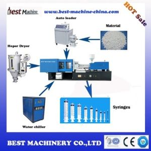 High Capacity Standard Medical Syringe Plastic Injection Molding Making Machine Suppling Factory pictures & photos