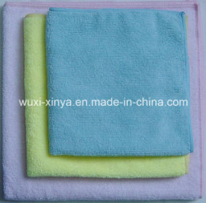 Super Quality Fiber Microfiber Cleaning Cloth pictures & photos