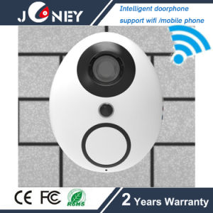 Intelligent 720p Doobell IP Camera with WiFi TF Slot, P2p Function pictures & photos