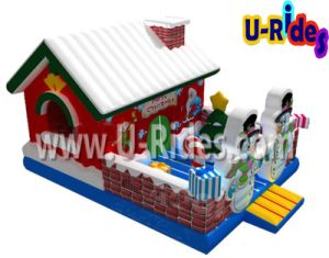 Jumping Inflatable Christmas Bouncer House for Kids pictures & photos