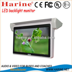 18.5 Inch Motorized LED Bus Monitor pictures & photos