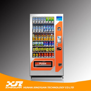 Snacks&Drinks Combo Vending Machine with Refrigeration System pictures & photos