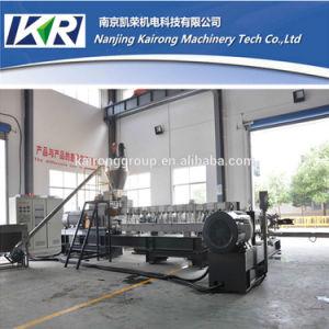 PC PE Seamless Steel Twin Screw Plastic Extruder Machine Price pictures & photos