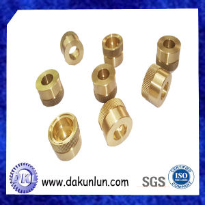 Straight Knurling Brass Sleeve Bushings