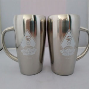 350ml / 12oz Hot Sale Double Stainless Steel Bear Mug (DC-CHSS-350) pictures & photos