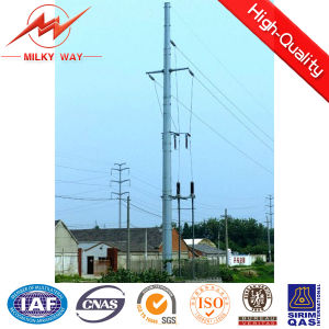 15m Yinhe Steel Electric Pole for Power Distribution pictures & photos