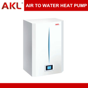 OEM Air to Water Split Heat Pump Water Heater for Home pictures & photos