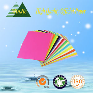 Direct Factory Various Size Colorful Copy Paper Supply pictures & photos