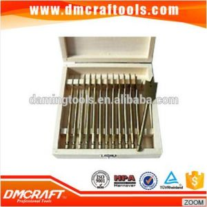 13PCS Wooden Box Flat Wood Drill Bit Set pictures & photos