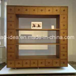 Rotatable Innovative Wooden Cabinet Display/ Practical Wooden Display pictures & photos