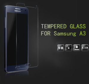 Tempered Glass Screen Protector for Samsung A3 9h Wholesale pictures & photos