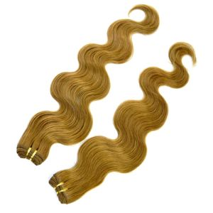 Color #8 Body Wave Human Remy Hair Weft pictures & photos