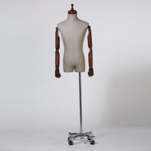 Fabric Wrapped Male Torso Mannequin From Yazi Mannequin pictures & photos