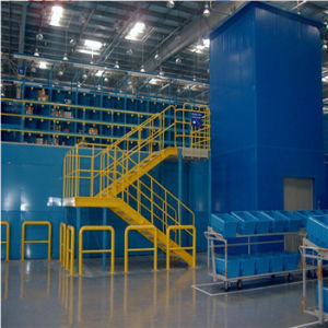 Warehouse Steel Mezzanine Floor Racking pictures & photos