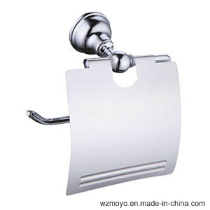 Bathroom Zinc Alloy Toilet Paper Holder in Chrome pictures & photos