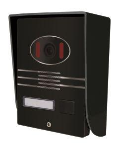 7 Inch Hands Free 4 Wires Color Video Door Phone pictures & photos