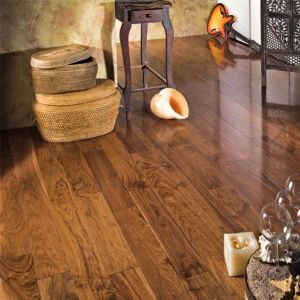 Black Walnut Engineered Wood Flooring Multi/3 Layer pictures & photos