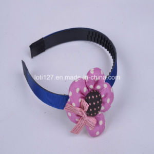 Purple Flower Modelling, White DOT DOT, Bowknot English Letters Pattern, Girls Hair Accessories, Fashion Head Hoop, Tiaras