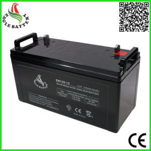 12V 120ah Mf VRLA Rechargeable Battery for UPS