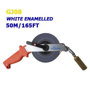 Gj08 50m/165ft White Enamel Oil Measuring Tape for Oil Gauging