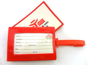 Custom Thermal Baggage Tag Sticker pictures & photos