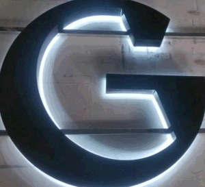 Outdoor Back Lit Black Painted Stainless Steel Channel Letter pictures & photos