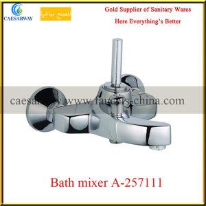 Bathroom Wall Mounted Brass Bathtub Mixer