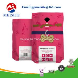 New Product Custom Pattern Printed Plastic Ziplock Flat Bottom Pet Food Bag pictures & photos