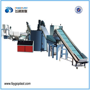Pet Bottle Plastic Washing Recycling Line for Pet Flakes pictures & photos