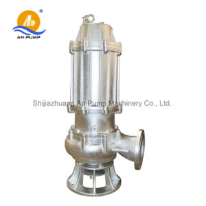 3 Phase Centrifugal Vertical Install Submersible Sewage Pump pictures & photos
