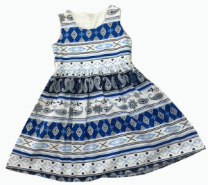 Fashion Girl Dress in Popular Children Clothing (SQD-138)