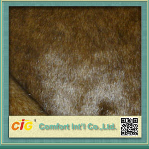 Colorful High Quality Faux Fur Fabrics pictures & photos
