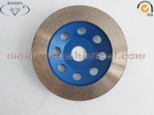 Popular Continous Rim Diamond Cup Wheel for Granite pictures & photos