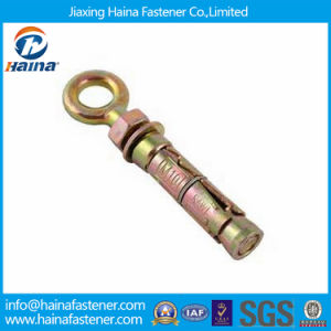Low Price Color Zinc Plated Expansion Anchor with Eye Bolt pictures & photos