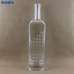 750ml Thick Bottom Glass Liquor Bottle (DVB104)