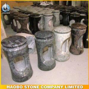 Granite Cemetery Lantern Wholesale LED Light Lamp pictures & photos