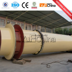 Yufeng High Quality 1.2*12m Sawdust Rotary Dryer pictures & photos