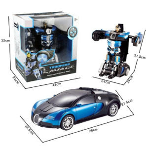 043663-2.4G RC Remote Control Deformation Robot pictures & photos