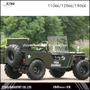 Gas / Diesel Fuel Mini Jeep with Ce pictures & photos