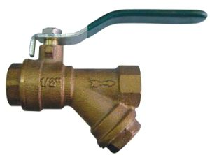 Top Bronze Ball Valve with Filter Price (BW-Q08) pictures & photos