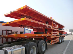 40ft Flatbed Container Cargo Semi Trailer